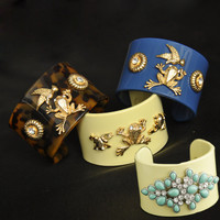 Shiny Stylish New Arrival Jewelry 3-color Accessory Bangle [7185124487]