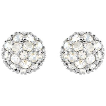 Swarovski Moonlight Crystal EUPHORIA Studs Pierced Earrings Rhodium #5073039