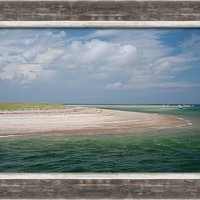 Cape Cod Beach Framed Print