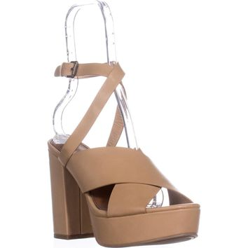 Indigo Rd. Eddie Platform Dress Sandal, Light Natural, 7.5 US