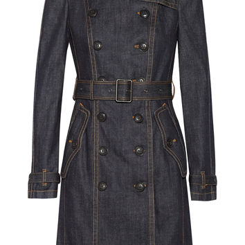 Burberry Brit - Denim trench coat