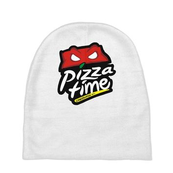 pizza time (2) Baby Beanies