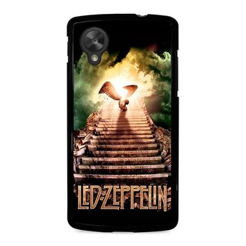 LED ZEPPELIN STAIRWAY TO HEAVEN Nexus 5 Case Cover