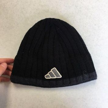 ONETOW BRAND NEW ADIDAS BLACK BUCKET KNIT HAT YOUTH FIT SHIPPING