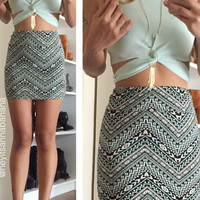 Mojito Crop Top - Mint