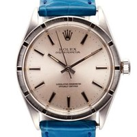 Rolex Stainless Steel Oyster Perpetual Watch By Cmt Fine Watch And Jewelry Advisors Now Available On Moda Operandi