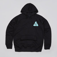 Flatspot - Palace Tri-Ferg Iced Out Hooded Sweatshirt Black