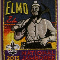 Boy Scout 2013 National Jamboree Elmo Sub Camp Patch Summit Bechtel Reserve BSA
