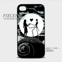 Love The Nightmare Before Christmas case for iPhone 4 4S 5 5S 5C 6 6Plus iPod 4 5 Samsung Galaxy Note 3 Note 4 Galaxy S3 S4 S5 HTC One M7 One X BlackBerry Z10 with Black White color Hard Plastic Rubber 3D Print image materials