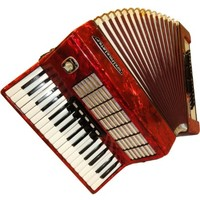Accordion Souvenir for Music Lovers Home Decor