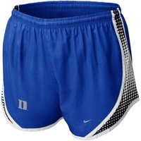 Nike Duke Blue Devils Ladies Duke Blue Seasonal Tempo Performance Shorts