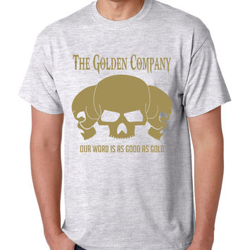 Golden Company Our word is as good as gold men t shirt