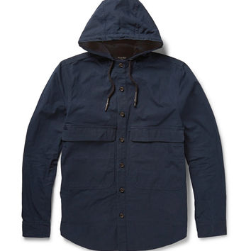 Steven Alan - Cotton-Gabardine Hooded Jacket | MR PORTER