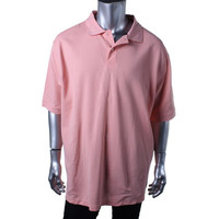Club Room Mens Big & Tall Knit Solid Polo