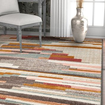 2947 Beige Southwest Design Modern Area Rugs