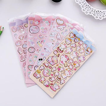 My Melody sticker, Little Twin Stars sticker, Miffy sticker, Hello Kitty sticker, Sanrio Japan, Sanrio sticker edit 25 26 so 24