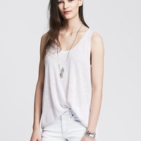 Banana Republic Womens Pleat Back Sweater Tank