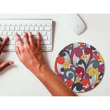 Mouse Pad Colorful Pattern Mousepad Art Mouse Mat