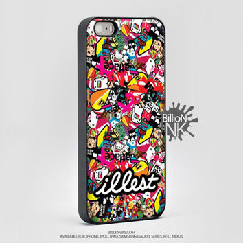 Illest Sticker Bomb Phone Case For Iphone, Ipod, Samsung Galaxy, Htc