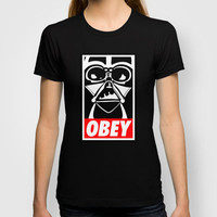 Obey Darth Vader - Star Wars T-shirt by Yiannis Telemachou | Society6