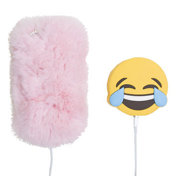 TEARS OF JOY EMOJI PORTABLE PHONE CHARGER