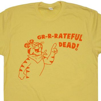 The Grateful Dead T Shirt Vintage Grateful Dead Concert Shirt Tony The Tiger Tee