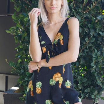 """Pineapple Skies"" Romper"