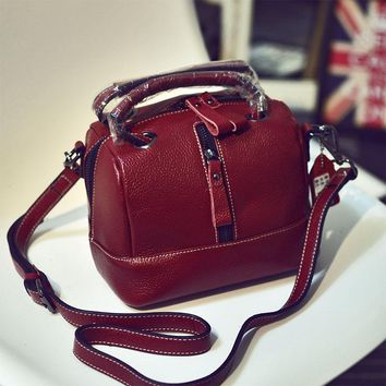 Genuine Leather Women Bags Briefcase