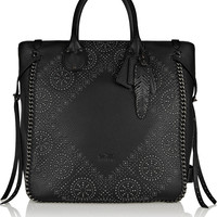 Coach - Tatum studded textured-leather tote