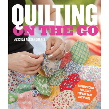 Potter Craft Books-Quilting On The Go