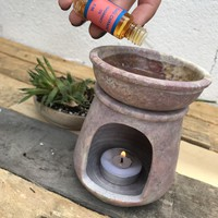 Soapstone Oil Burner