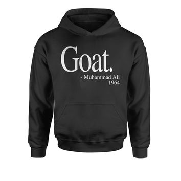 Goat Ali Quote Youth-Sized Hoodie