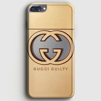 Gold Gucci iPhone 7 Plus Case