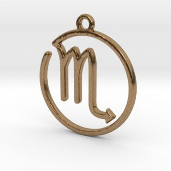 Scorpio Zodiac Pendant by Jilub on Shapeways