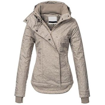Trendy Young17 Autumn Jacket Women Clothes 2018 Plus Size Gothic Brown Long Sleeve Streetwear Casual Ladies Jacket Fall Winter Overcoat AT_94_13