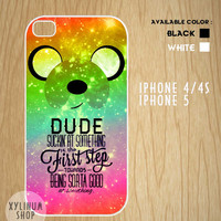 Adventure time quotes Case Available for Iphone 4 / 4s / 5 and Samsung Galaxy S3 and S4