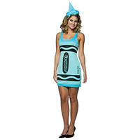 Rasta Imposta Womens Crayon Halloween Party Dress Costume