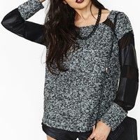 Nasty Gal Collection Division Sweater