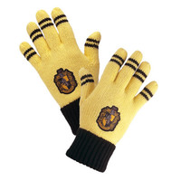 Hufflepuff™ Striped Gloves | Universal Orlando™