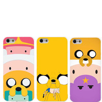 Adventure time ups and downs of jake Finn hard white plastic protective case cover for iphone 4 4 s 5 5 s 5 c 6 6s 6plus 6s plus