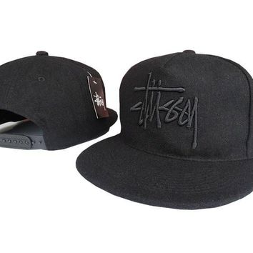 One-nice™ Perfect Stussy Women Men Embroidery Edgy Sports Hip Hop Baseball Cap Hat