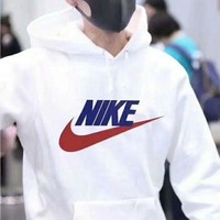 NIKE Women Men Fashion Print Hoodie Top Sweater Sweatshirt