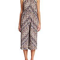 Zimmermann - Ryker Chevron Jumpsuit - Saks Fifth Avenue Mobile