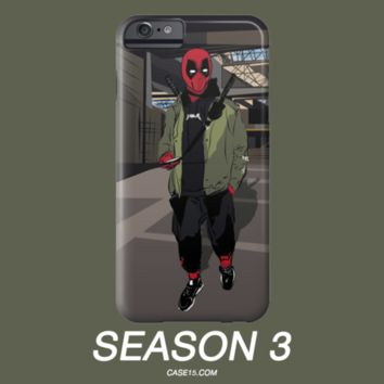 Deadpool Yeezy Season 3 Kanye West Yeezus IPhone 5 6 6s Plus Galaxy s5 s6 Phone Case - Case15