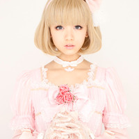 Priscilla official mail order site of extension and wigs Lolita All mannish [Bob] A-635 Heat / wig