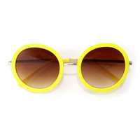 Final Re-Vision Yellow Sunglasses
