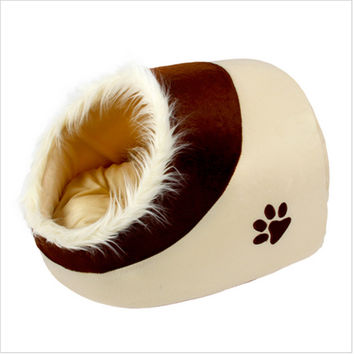 2015 Low Price High Quality Pet Waterloo MATS Cat House Pet Dog Kennel Dog Bed Small Dogs Teddy Nest Dog Cushion  GP151103-23