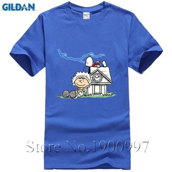 Back To The Peanuts Future Design Mens T Shirt Summer Short Sleeve Hipster Cool Brand Clothing Funny Top Tee Print Plus Size