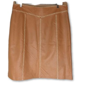 Gap Brand New Leather Skirt Size 10