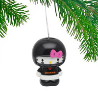 Chicago Bears Hello Kitty Ornament - http://www.shareasale.com/m-pr.cfm?merchantID=7124&userID=1042934&productID=555873432 / Chicago Bears